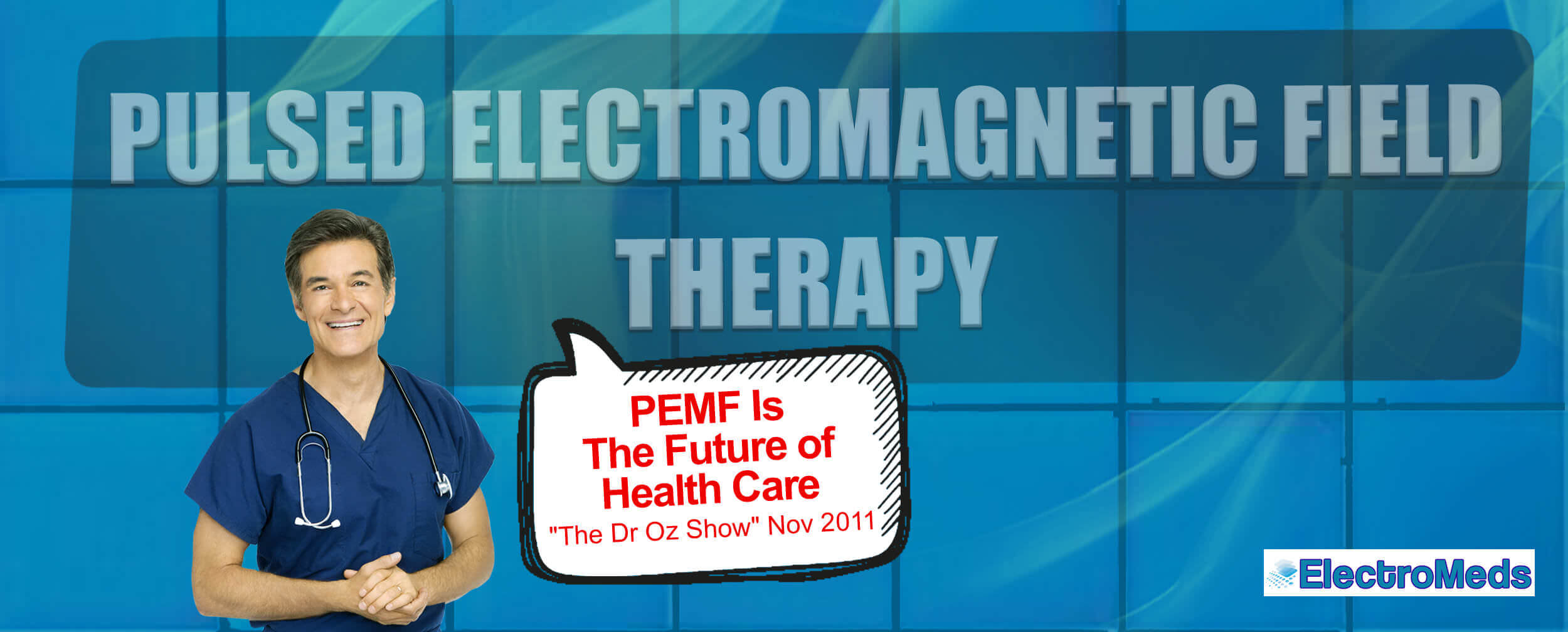 """PEMF Pulsed ElectroMagnetic Fields Therapy is """"The Future of Health Care"""""""