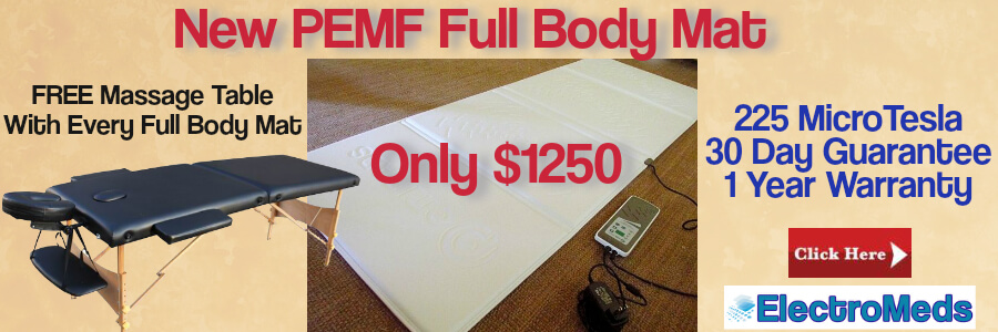 PEMF Full Body Mat ElectroMeds